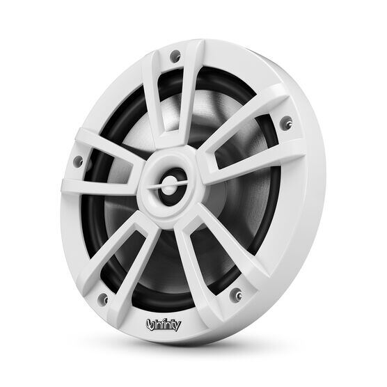 """Reference 822MLW - White Gloss - Reference 822MLW—8"""" (200mm) two-way marine audio multi-element speaker - white - Hero"""