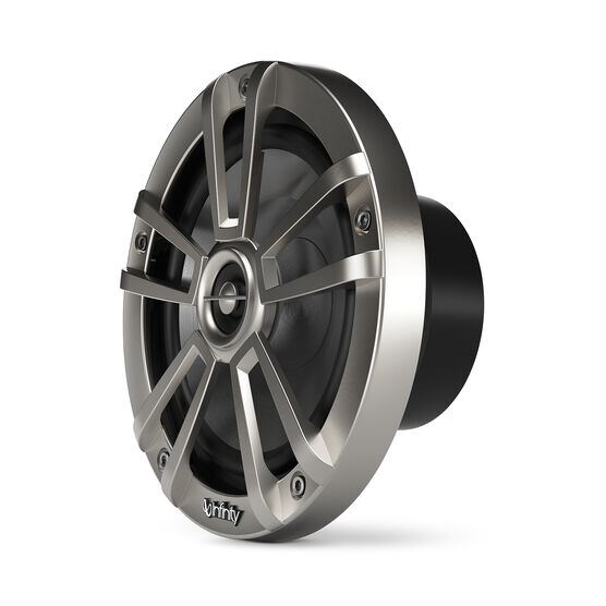 """Reference 622MLT - Graphite - Reference 622MLT—6-1/2"""" (160mm) two-way marine audio multi-element speaker – titanium - Left"""