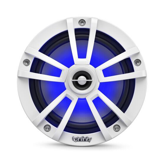 """Reference 622MLW - White Gloss - Reference 622MLW—6-1/2"""" (160mm) two-way marine audio multi-element speaker - white - Detailshot 4"""
