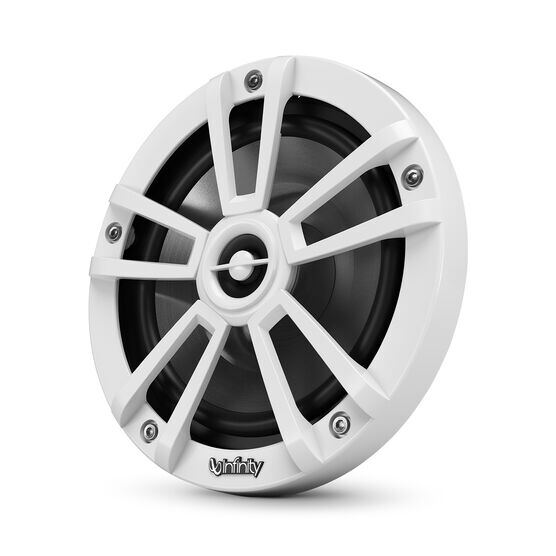 """Reference 622MLW - White Gloss - Reference 622MLW—6-1/2"""" (160mm) two-way marine audio multi-element speaker - white - Hero"""