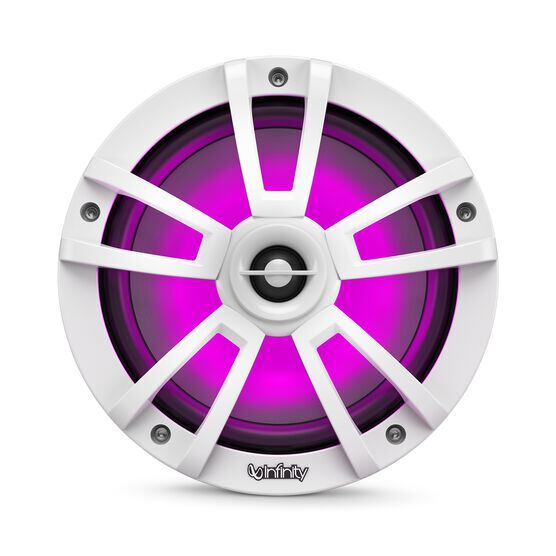 """Reference 822MLW - White Gloss - Reference 822MLW—8"""" (200mm) two-way marine audio multi-element speaker - white - Detailshot 3"""