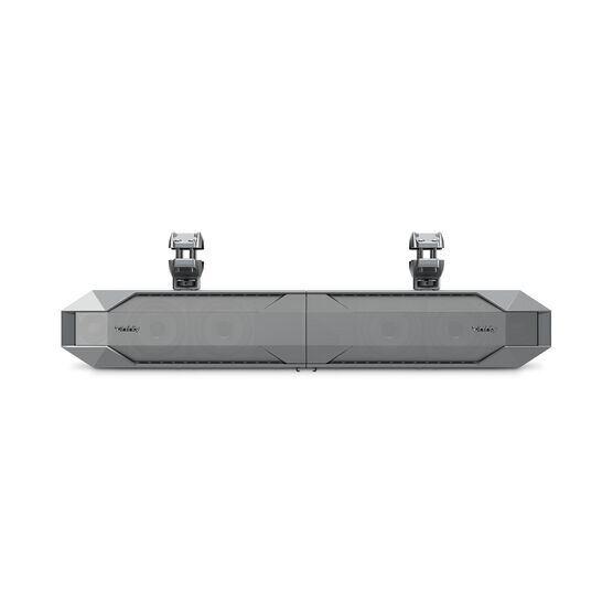 INFINITY KAPPA MARINE SOUNDBAR - Silver - INFINITY KAPPA 4100msb Amplified MARINE Soundbar. - Front