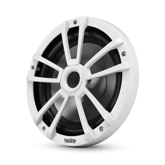 """Reference 1022MLW - White Gloss - Reference 1022MLW—10"""" (250mm) marine audio subwoofer - white - Hero"""