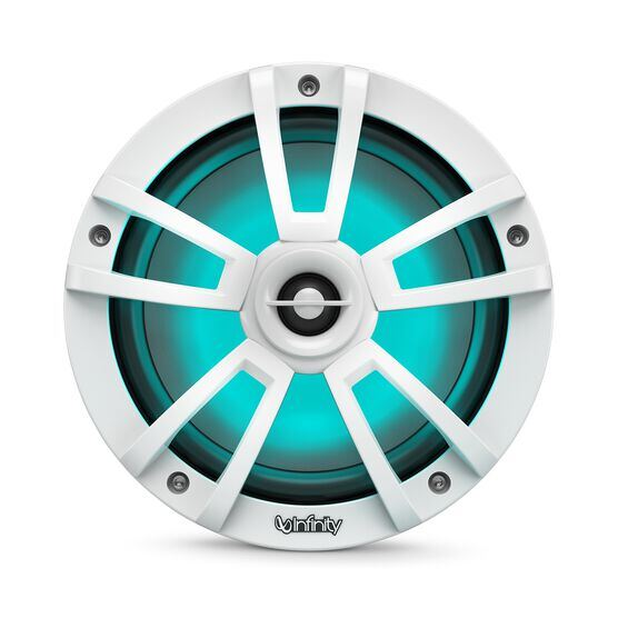 """Reference 822MLW - White Gloss - Reference 822MLW—8"""" (200mm) two-way marine audio multi-element speaker - white - Detailshot 1"""