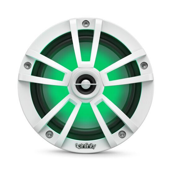 """Reference 622MLW - White Gloss - Reference 622MLW—6-1/2"""" (160mm) two-way marine audio multi-element speaker - white - Detailshot 2"""