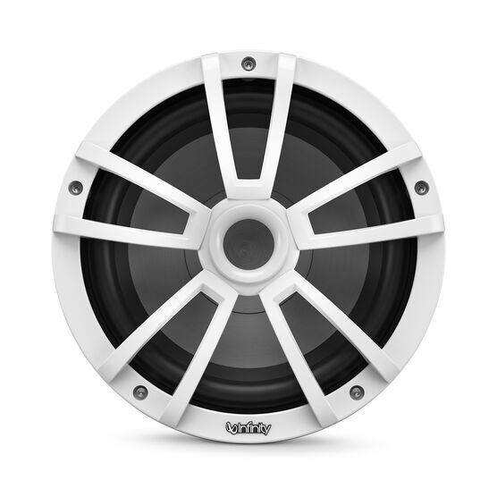 """Reference 1022MLW - White Gloss - Reference 1022MLW—10"""" (250mm) marine audio subwoofer - white - Front"""