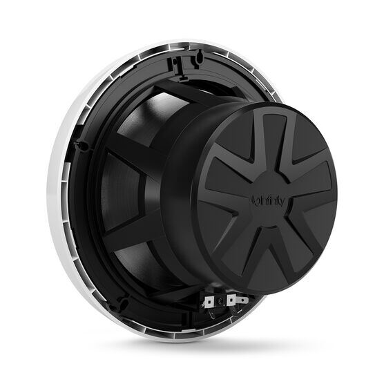 """Reference 822MLW - White Gloss - Reference 822MLW—8"""" (200mm) two-way marine audio multi-element speaker - white - Back"""