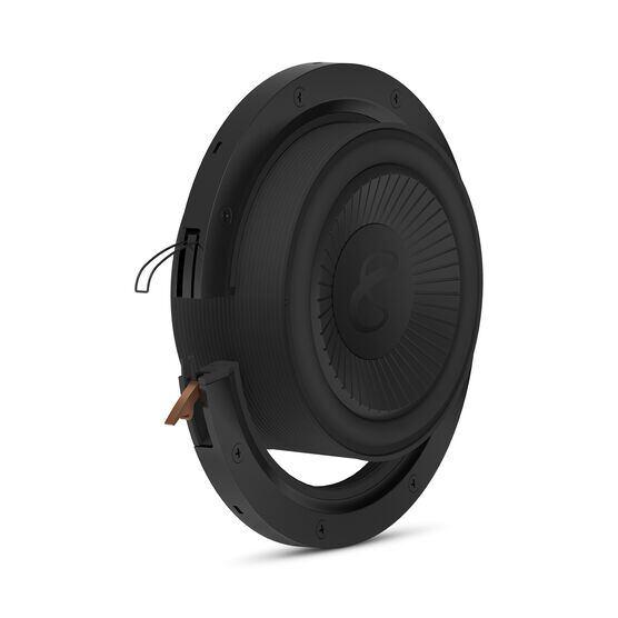 """Reference Flex Woofer 8d - Black - 8"""" (200mm) adjustable depth car audio subwoofers optimized for factory location upgrades - Detailshot 1"""