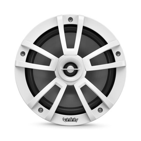 """Reference 822MLW - White Gloss - Reference 822MLW—8"""" (200mm) two-way marine audio multi-element speaker - white - Front"""