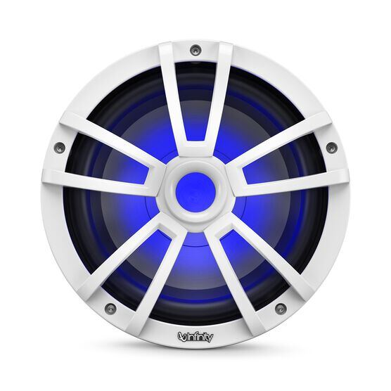 """Reference 1022MLW - White Gloss - Reference 1022MLW—10"""" (250mm) marine audio subwoofer - white - Detailshot 4"""