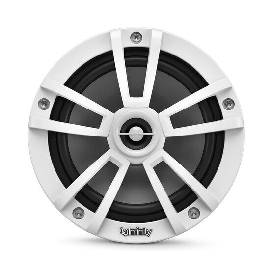 """Reference 622MLW - White Gloss - Reference 622MLW—6-1/2"""" (160mm) two-way marine audio multi-element speaker - white - Front"""