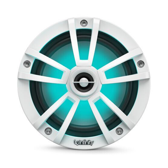 """Reference 622MLW - White Gloss - Reference 622MLW—6-1/2"""" (160mm) two-way marine audio multi-element speaker - white - Detailshot 1"""