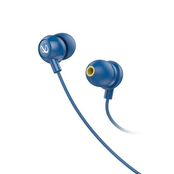INFINITY WYND 220 - Blue - In-Ear Wired Headphones - Front
