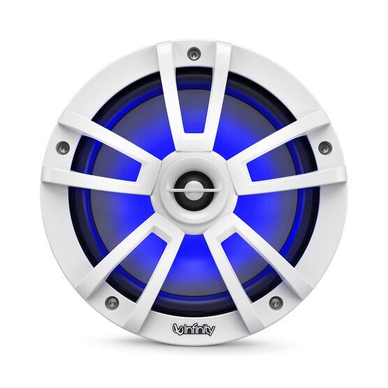 """Reference 822MLW - White Gloss - Reference 822MLW—8"""" (200mm) two-way marine audio multi-element speaker - white - Detailshot 4"""
