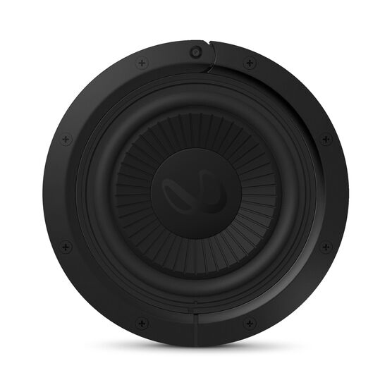"Reference Flex Woofer 8d - Black - 8"" (200mm) adjustable depth car audio subwoofers optimized for factory location upgrades - Front"