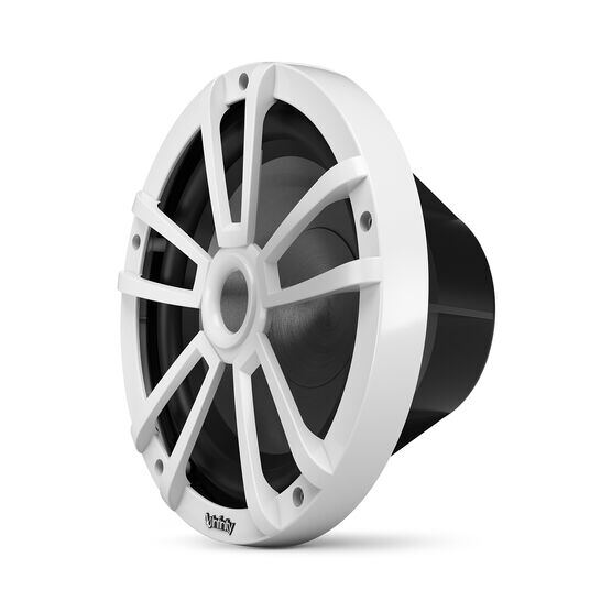 """Reference 1022MLW - White Gloss - Reference 1022MLW—10"""" (250mm) marine audio subwoofer - white - Left"""