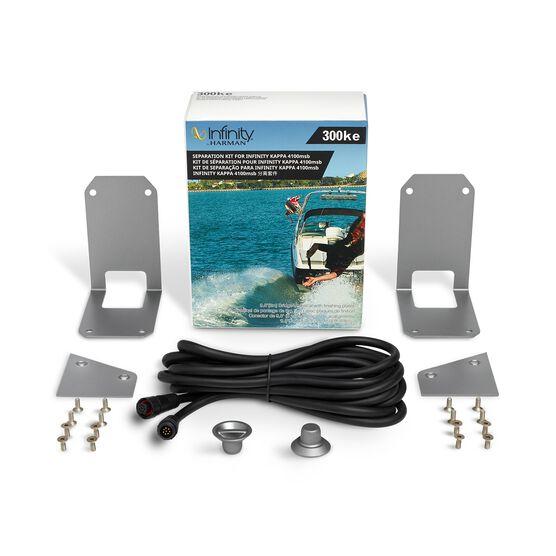 Infinity 300KE Separation Kit - Silver - 9.8'(3mm)Bridge Umbilical with finishing plates - Hero