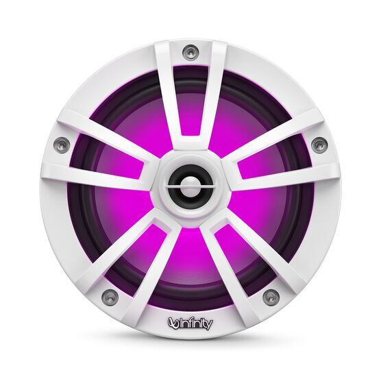 """Reference 622MLW - White Gloss - Reference 622MLW—6-1/2"""" (160mm) two-way marine audio multi-element speaker - white - Detailshot 3"""