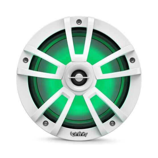 """Reference 822MLW - White Gloss - Reference 822MLW—8"""" (200mm) two-way marine audio multi-element speaker - white - Detailshot 2"""