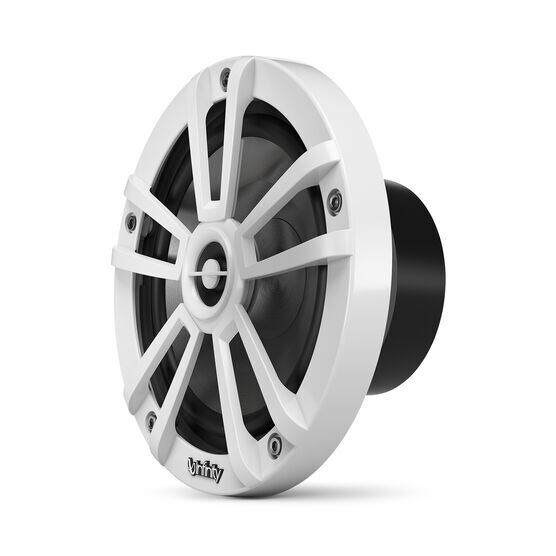 """Reference 622MLW - White Gloss - Reference 622MLW—6-1/2"""" (160mm) two-way marine audio multi-element speaker - white - Left"""